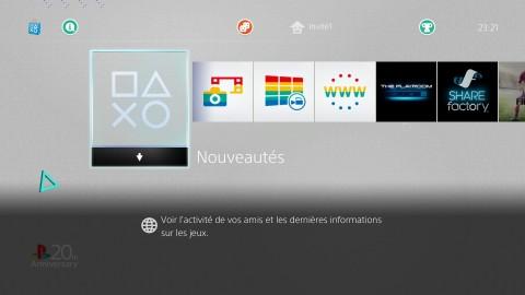 PlayStation Dynamic Menu