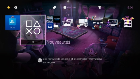 PlayStation Dynamic Menu